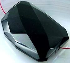 40mm Black Onyx Agate Faceted FreeForm Pendant Bead