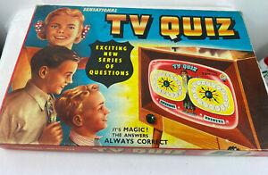 Vintage 1960s TV Quiz Board Game