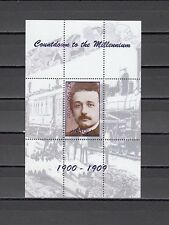 Angola, 1999 Cinderella issue. Albert Einstein, Millennium s/sheet.