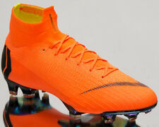 Nike Mercurial Superfly VI 360 Elite FG Soccer Cleats Orange Ah7365-810 Sz 9