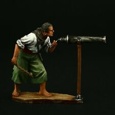 Tin soldier, Collectible Pirate with a Hand Cannon 54 mm, Pirates and Corsair