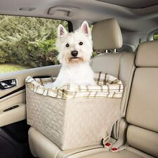 PetSafe Happy Ride Quilted Dog Safety Seat - Pet Booster Seat 14Lx18Wx8H in