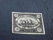 Stamps Canal De Suez Maritime 1868 Egypt Lot