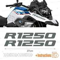 2pcs Adesivi Grigio compatibile Moto BMW R 1250 GS HP R1250 ADVENTURE R1250GS