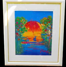 Peter Max, Rain-forest Foundation # 109 - 1997 Signed Unique Lithography.