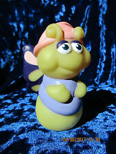 Vtg 80s Hasbro Playskool GLO FRIENDS Glow Worm Bug FLUTTERBUG  MAIL-AWAY RARE!