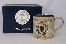Wedgwood Guyatt Queen Elizabeth II & Prince Philip 25th Wedding Anniversary Mug
