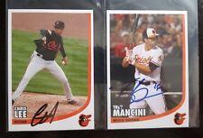 Trey Mancini autographed Baltimore Orioles autographed FanFest postcard