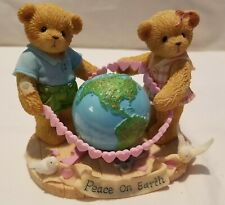 Cherished Teddies Bear Figurine Parker Carly Love World Signed Ltd Ed 2251/7500