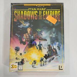 Star Wars Shadows of the Empire - PC Big Box LucasArts Game - US Version