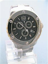 """NEW MARC ECKO MEN'S """"The Raceway"""" Chronograph Stainless Steel Watch E16587G3"""
