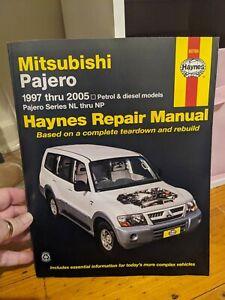 Haynes Repair Manual Mitsubishi Pajero 1997 Thru To 2005