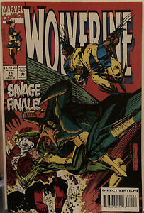 Lot Of 1 DC Comics Wolverine #71 Rogue See Pics Combined Shipping