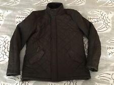 Barbour Powell Jacket Men's M Medium Quilted Fleece Lining