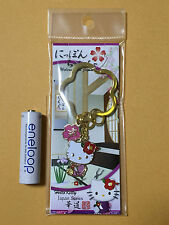 F/S Hello Kitty Japanese Style Flower Arrangement Key Holder from Japan