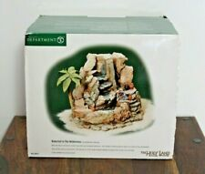 Dept 56 The Holy Land Water in the Wilderness Fountain  #56.59918 - Working