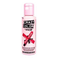 Renbow Crazy Color Haarfarbe Auswaschbar Tnung Hair Dye 100ml Ruby Rouge Rot