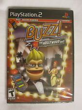 Buzz! The Hollywood Quiz (Playstation PS2) Brand New, Sealed~