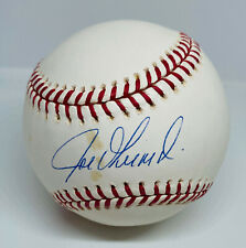 NY Yankees Joe Girardi Signed Baseball Autographed MLB and Fanatics Hologram