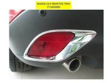 MAZDA CX-5 REAR FOG TRIM BEZELS PLASTIC CHROME FINISH YT-MZD005