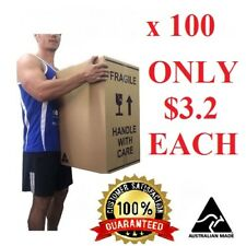100X100L MOVING BOX & PACKING SUPPLY REMOVALIST PACKAGING