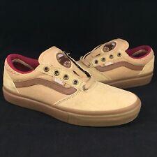 3b465c50a1 New Vans Gilbert Crockett Pro Sz 7 Men Tan Dachshund Gum Skate Shoe Canvas  Suede