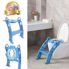 Karibu Award Winning Potty Training Step Ladder Soft Padded Toilet Seat Blue