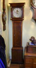 More details for antique grandfather cottage clock.