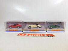 CD326-1 #3x Matchbox Dinky 1:43 Car: DY-30 +DY-24 Ferrari + DY036/a, Mint+Box