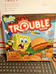 Spongebob Squarepants Trouble Game  2012
