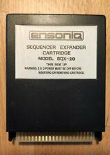 ENSONIQ SQX-20 Sequencer Expander Cartridge