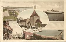 CARTE POSTALE POST CARD ENGLAND ANGLETERRE NEWHAVEN DIFFERENT VIEW