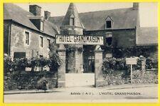 cpa Bretagne 35 - ANTRAIN (Ille et Vilaine) HÔTEL GRAND'MAISON Prop. E. JARDIN