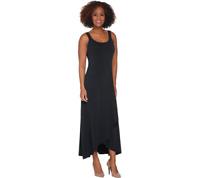 BROOKE SHIELDS Timeless Petite Sleeveless Maxi Dress BLACK 3XP #A307771