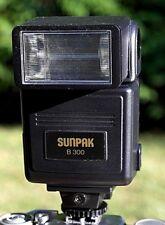 Sunpak B300 Camera Electronic Flash