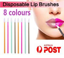 Lip Gloss Wands Brush Disposable Lip Wand Lipstick Applicator 8Colours/10-1000pc
