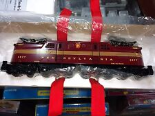 Traditional 027 3Rail PRR Tuscan Red 5 Stripe GG1 Mint in Box