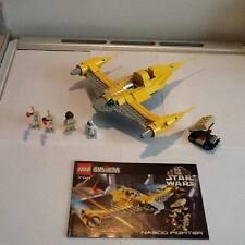 Lego 7141-Star Wars-Naboo Fighter Set-Con Instrucciones