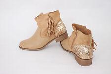 Stiefeletten Stiefel Damen Schuhe Gr. 39 Freizeitschuhe Halbschuhe Camel Boots