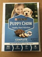 Purina Puppy Chow Food Box 16 Oz Each Healthy Start Complete NEW