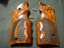 """Ruger Mark Mk IV ONLY Rosewood """"Crocback/Stippled"""" FG Target Pistol Grips - New!"""