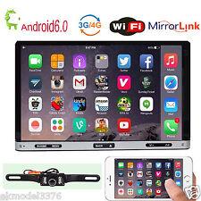 "7"" Andriod 6.0 Quad Core Car DVD Player GPS Navi Stereo Wifi/3G BT Radio+CAM"