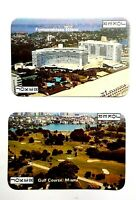 Souvenir Playing Cards of Florida 54 Different Color Views Photoletter Vintage