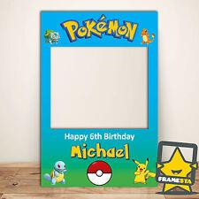 Pokemon Party Supplies Australia - Pokemon Frame (60 x 90 cm) Decorations
