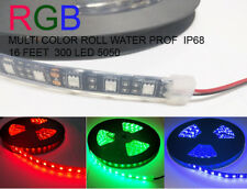 RGB Multi Color w/remote  Heavy duty 5M Waterproof IP68 300 LED Strip Light