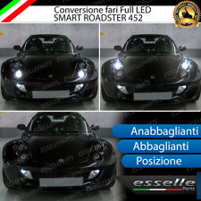 CONVERSIONE FARI FULL LED SMART ROADSTER CANBUS BIANCO GHIACCIO MONOLED MONO LED
