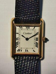 Cartier Mens Tank Watch .