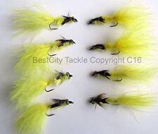 Mouches jaunes truite pour la pêche