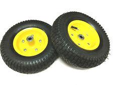 "2 pcs 13 x 5.00-6 PNEUMATIC WHEEL""S Tyre (16mm centre )4P.R -BRAND NEW"