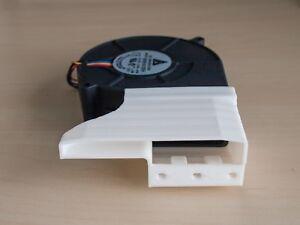 NVIDIA Tesla K80 P100 V100 FHHL M40 cooling fan shroud duct